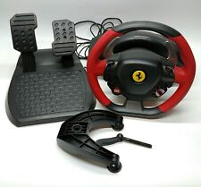 Thrustmaster Ferrari 458 Spider Xbox One Racing Wheel W/ Pedals Untested As Is