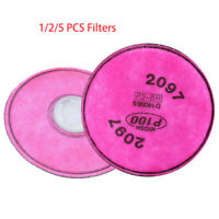 2097 Filters Fit for 6200 6500 7500 Facepiece Reusable Respirator Face Cover