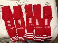ADIDAS MLS PORTLAND TIMBERS ROSE CITY MLS SOCCER team Socks RED Green SOCKS $20