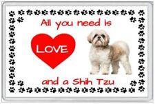 SHIH TZU - JUMBO FRIDGE MAGNET - DOG PUP PUPPY CANINE CLUB KENNEL PETS PUPPIES