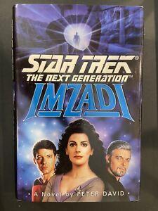Star Trek The Next Generation Imzadi By Peter David (1992, Hardcover)