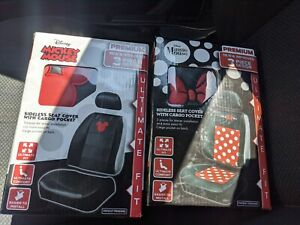 Disney Mickey Mouse And Minnie Mouse Car Seat Cover