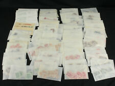 Dealer Stock Lot of Argentina Stamps in Glassines - Early, Scarce Cancels +