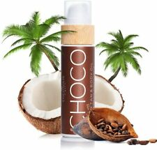 COCOSOLIS Choco Huile bronzante chocolat Bio pour un bronzage naturel 110 ml
