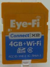 Eye-Fi Connect X2 4GB Wi-Fi SD Card