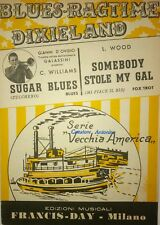 SUGAR BLUES - SOMEBODY STOLE MY GAL (C. WILLIAMS - L. WOOD) SPARTITI SHEET