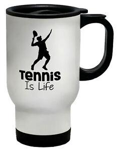 Tennis is Life Travel Mug Cup