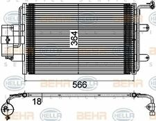 8FC 351 036-384 HELLA Condenser  air conditioning