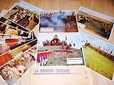 LA DERNIERE CROISADE ! Sergiu Nicolaescu  jeu 12 photos cinema lobby card 1970