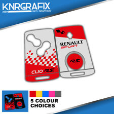 KNR0026 CLIO MK4 IV RS RENAULT -  KEYFOB SKIN - KEY STICKER - 5 CHOICES