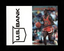 >Orig./Nice! 1989-90 Oregon State Beavers Basketball Pocket Schedule GARY PAYTON