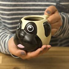 Carlin tasse cadeau cuisine enfants tête fantaisie café thé chien en forme de