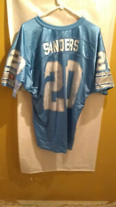 Vintage Wilson Detroit Lions Barry Sanders #20 Football Jersey Men's XL Made USA