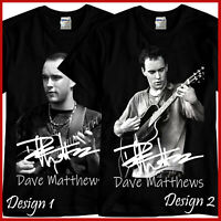 Dave Matthews Rock Band Tribute CD Music Black T-Shirt TShirt Tee Size S-3XL