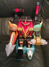 2002 Bandai Power Rangers Wild Force Deluxe Isis Command Megazord FREE SHIPPING