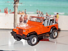 1987 JEEP WRANGLER 4X4 1/64 SCALE DIECAST LIMITED COLLECTIBLE DIORAMA MODEL G