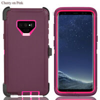 For Samsung Galaxy Note 9 Case Full Screen Protection Fit Otterbox Defender