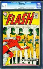 Flash 105 CGC 6.5 Silver Age Key DC Comic 1st Issue & Mirror Master IGKC L@@K