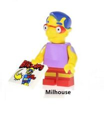 G3 - Milhouse The Simpsons - Custom Minifigure Gashapon LEGO - Nuovo in Blister