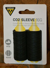 Topeak CO2 Manga 16g Silicona Para CO2 Cartuchos Antideslizante Negro