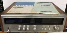 Vintage Pioneer Tx-9100 Am/Fm Tuner Component w/ Owner's & Service Manuals Works