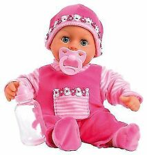 Bayer Design 93800-pink First Words Baby 38 Cm Funktions-puppe