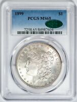 1899 Morgan PCGS MS65 *CAC-Verified* Silver Dollar Gem