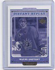 99-00 1999-00 UPPER DECK RETRO WAYNE GRETZKY DISTANT REPLAY 9 NEW YORK RANGERS