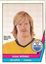 1977-78 O-Pee-Chee WHA #33 Juha WIDING Edmonton Oilers Hockey Card