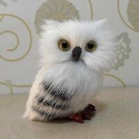Hot 10pcs Realistic Cute Cartoon Hedwig Owl Toy Mini Simulation Model Christmas