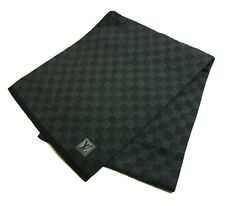 Authentic LOUIS VUITTON Scarf WOOL #1990