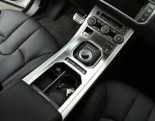 For Range Rover Evoque 2011-2016 Interior Front Gear Shift Panel Cover Trim 2pcs