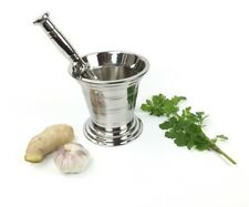 Stainless Steel Mortar and Pestle Set Spice Grinder Crusher Pharmacy Bowl B-02