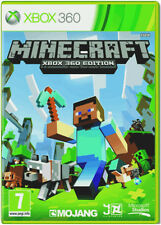 Minecraft For Xbox 360 Brand New presque DELIVERY!