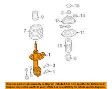 SUBARU OEM 2015 WRX Front Suspension-Strut 20310VA050