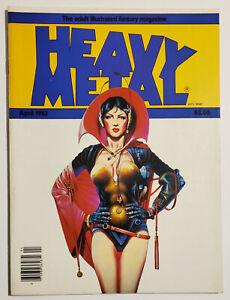 Heavy Metal Magazine Vol 7 #1 (April 1983) FN/VF Moebius Milo Manara Mike Kaluta