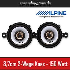 Alpine SXE-0825S 2-Wege Koax 8,7cm Auto-Lautsprecher 87mm 150Watt - Paarpreis