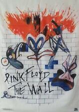 RARE OOP Pink Floyd The Wall CD Cover Cloth Fabric Wall Poster Flag Tapestry-New