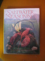 LIBRO: SALTWATER SEASONINGS-SARAH LEAH CHASE - 1966 *****