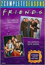 FRIENDS: THE COMPLETE FIFTH & SIXTH SEASONS (2PC) - DVD - Region 1