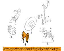 VW VOLKSWAGEN OEM 98-99 Beetle Brake-Front Pads 1J0698151J