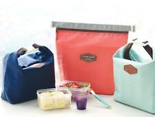 New Insulated Pouch Bag | Cool Bag | Cooler Lunch Box Bag – in 3 colours