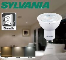 6.5W GU10 LED bulb SYLVANIA 580lm COOL WHITE 4K 6.5 Watt = 81 Watt retro fit