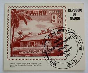 Nauru – Set of 3 Presentation Packs - Nos 12, 13 and 17 – 1981