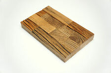 SAMPLE - Antique Wall Cladding Reclaimed Wood Paneling Recycled Vintage Brushed