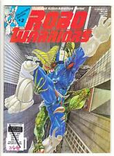 "ROBO WARRIORS #2 (5/88)--VG++ / ""Transformers""-Ish; B. Parker, D. Gross-art^"