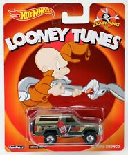 Hot Wheels '85 Ford Bronco Looney Tunes Series #BDT10 New NRFP 2013 Green 1:64