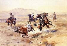 WESTERN ART POSTER The Renegade - Charles M Russell NEW