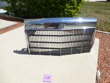 1984-1992 Lincoln Mark VII LSC OEM Chrome Front Grille Assembly   #140
