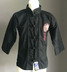 SYDNEY SELF DEFENCE CENTRE Unisex Yi QUAN Black Jackets Sizes 000/110